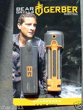 Gerber Bear Grylls Ceramic Pocket Knife and Multi Tool Field Sharpener 31-001270
