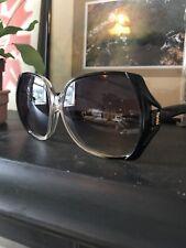 Rare Vintage 70s YSL 7891 Y12 Oversized Square Frame Fade Sunglasses