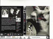 New York City Ballet:Workout-2001-DVD with 16 Page Booklet-Ballet-DVD