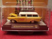 M2 1957 Chevrolet 150 Handyman SW  w/display case 1/64 scale NIB 1 of 4800
