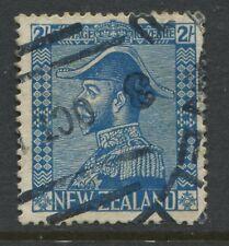 New Zealand KGV 1926 2/ blue used