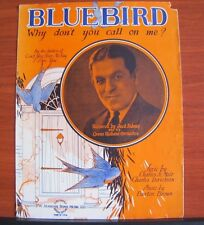 Bluebird: Why don't you call on me? - 1928 sheet music - Vocal Piano Ukulele