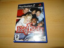 FORTY 4 Party - Sony Playstation 2 PS2 PAL - COMME NEUF COLLECTORS