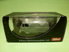 SCHUCO 2801 MERCEDES BENZ L319 DELIVERY VAN - GREEN 1:43 - MINT CONDITION IN BOX