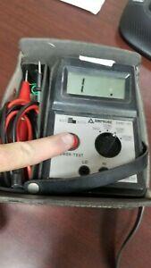 AMPROBE AMB-4D Megohmeter Unit #4 GOOD!
