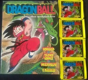 DRAGON BALL 1999. Panini Empty album with 50 packs