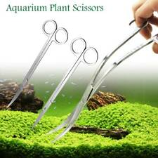 Aquarium Plant Tools Scissors Planted Fish Tank Maintenance Curved