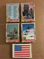Desert Storm II 1991 Topps 88 Trading Card Set & 11 Stickers NM/M Condition