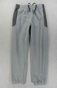 Under Armour COLD GEAR Loose Fit Running Training Pants (Youth Large) Grey