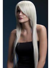 "Fever Amber Wig Ladies Deluxe Long Blonde Fancy Dress Wig 28"" New"
