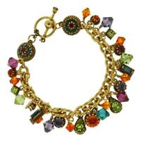 Lunch At The Ritz B01 Bright Multi-AG Toggle Bracelet from Esme