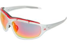 ADIDAS Evil Eye Evo Pro L Sunglasses, Crystal Clear/Matt Red