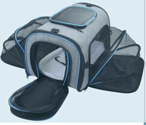 Lovely Quality Siivton Expandable and Foldable Pet Carrier (Airline Approved)