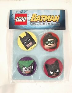 Lego Movie Batman clip on buttons