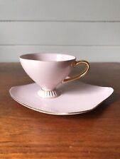 Vintage Westminster China Pink Tennis Set Tea Cup And Saucer Made In Australia