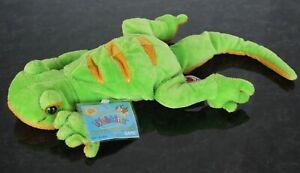 NEW Webkinz Lemon Lime Green Gecko Lizard Ganz Plush Stuffed Animal UNUSED Tag