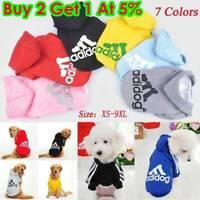 Pet Dog Cat Warm Winter Clothes Coat Apparel Puppy Jacket Hoodie Costume XS-2XL