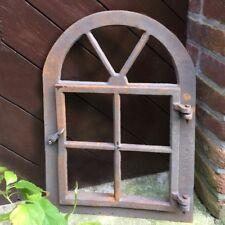 Eisenfenster Sungarden antik-ländlich - mit Flügel zum öffnen