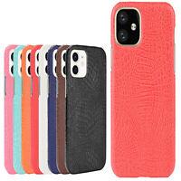 Leather Case For iPhone 12/12 Mini/12 Pro Max Crocodile Phone Cover Shell Skin