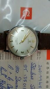 OMEGA SEAMASTER 600 MANUAL WIND, CAL 601, REF ST 135.011, PAPERS 1968
