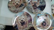 "4 8"" Yorkshire Terrier collector plates danbury mint plt1"