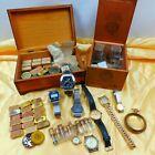 Vintage Repair Huge LOT Watches, Hands, Screws, Peregaux, Hamilton, Gruen, Timex