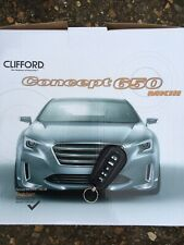 CLIFFORD G5 Concept 650 MKIII Alarm + Remote Start  fully fitted In London