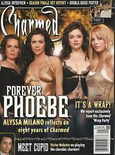 Charmed Magazine 12 Forever Phoebe Alyssa Milano Poster Victor Webster NM