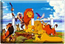 New Lion King Simba From Disney'S 3D Movie Triple Light Switch Wall Plate Cover