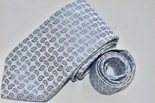 Men's Brooks Brothers Makers White Silk Neck Tie made in USA NEW