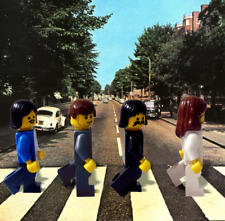 LEGO The Beatles Abbey Road custom figures and set EX+