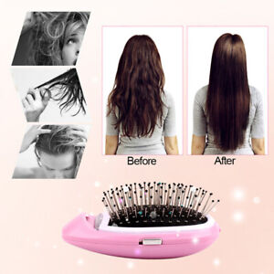 Electric Ionic Comb Anti-Static Brush Scalp Massager For Hair Styling Tool