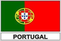 Sticker adesivi adesivo bandiera P portogallo