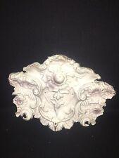 """1920's 16 3/4"""" Ornate Metal Pediment"""