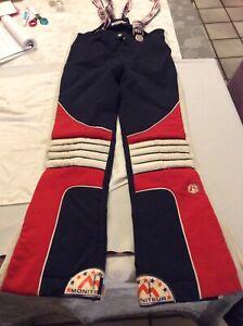 Ancienne Combinaison Ski Extensible Prêt à Skier MONITEUR T40 France Collection
