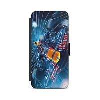 Sport Car Speed Effect Formula Car  Flip Wallet Phone Case