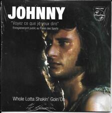 CD CARTONNE CARDSLEEVE 2T JOHNNY HALLYDAY VOYEZ CE QUE JE VEUX DIRE NEUF SCELLE