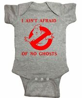 """Ghostbusters One Piece """"I Ain't Afraid Of No Ghosts"""" Bodysuit"""