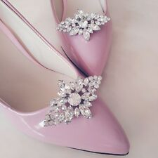 Shoe Clip Buckle Rhinestone Decoration Wedding Floral DIY Charms Women Accessory