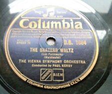 "Vienna Symphony Orchestra - The Skaters / Schoenbrunner Waltz 10"" 78RPM 1932"