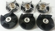 Blendin Lot of 6 Base Gear and Blade Gear Replacement Part for Magic Bullet Blen