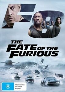 The Fate of the Furious - Rare DVD Aus Stock New