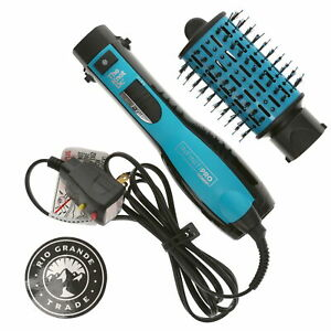 USED InfinitiPRO by Conair bc116 The Knot Dr All in One Dryer Brush Blue / Black