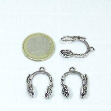 462a82cb71d6 15 Colgantes Cascos 25x18mm T102 Plata Tibetana Beads Perline Pendant  Ciondolo