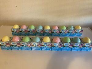 Lot Of 18 Hasbro Lost Kitties Sparkle Series Easter Eggs Kitty Figure New