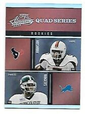 2003 Absolute Quad Series #30 Andre Johnson/Jacobs/Rogers/Washington Rookie