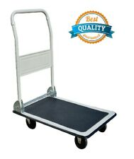 330lbs Platform Cart Dolly Folding Foldable Moving Hand Truck