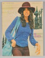 Carly Simon No Secrets Songbook Piano Vocal Easy Organ K573 Paperback 1972