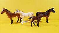 SCHLEICH LOT 4 ARABIAN MARE FOAL HORSE 13276 13629 13630 TRAKEHNER 13261