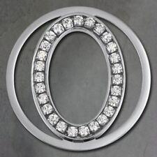 Ciondoli di bigiotteria in argento in acciaio con pietra principale zircone